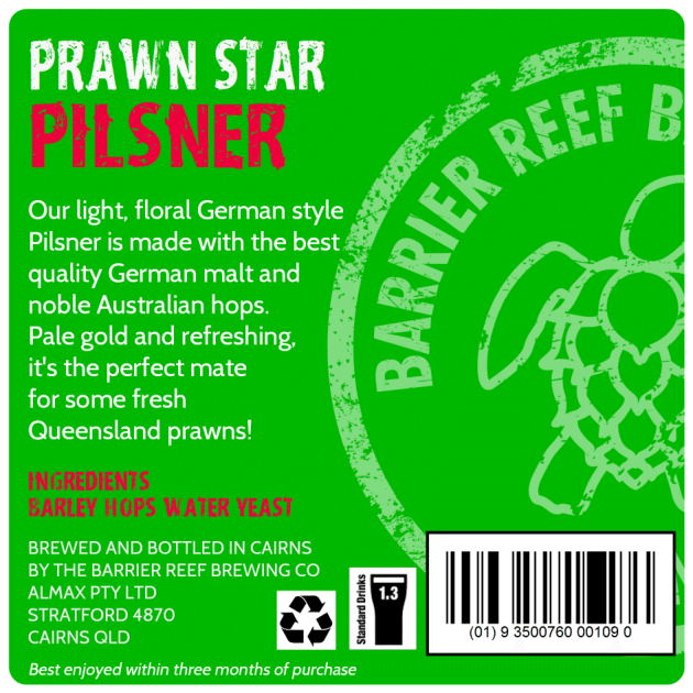 Prawn Star Pilsner