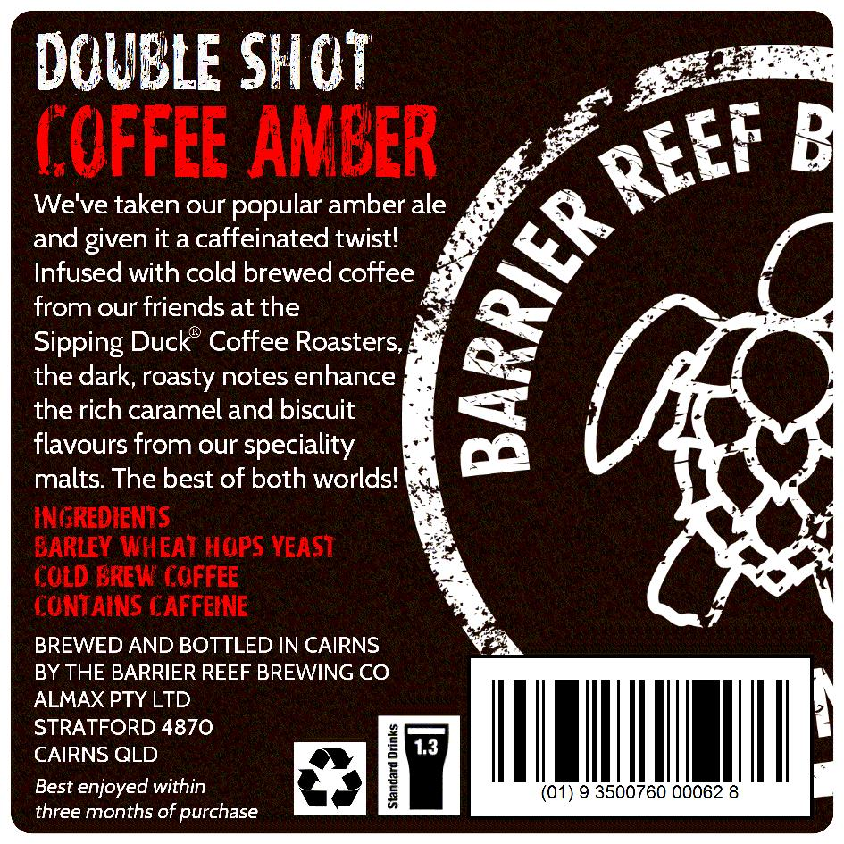 Double Shot Coffee Amber
