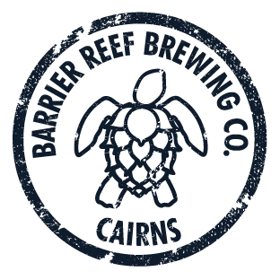 Barrier Reef Brewing North Queensland Reverse Logo