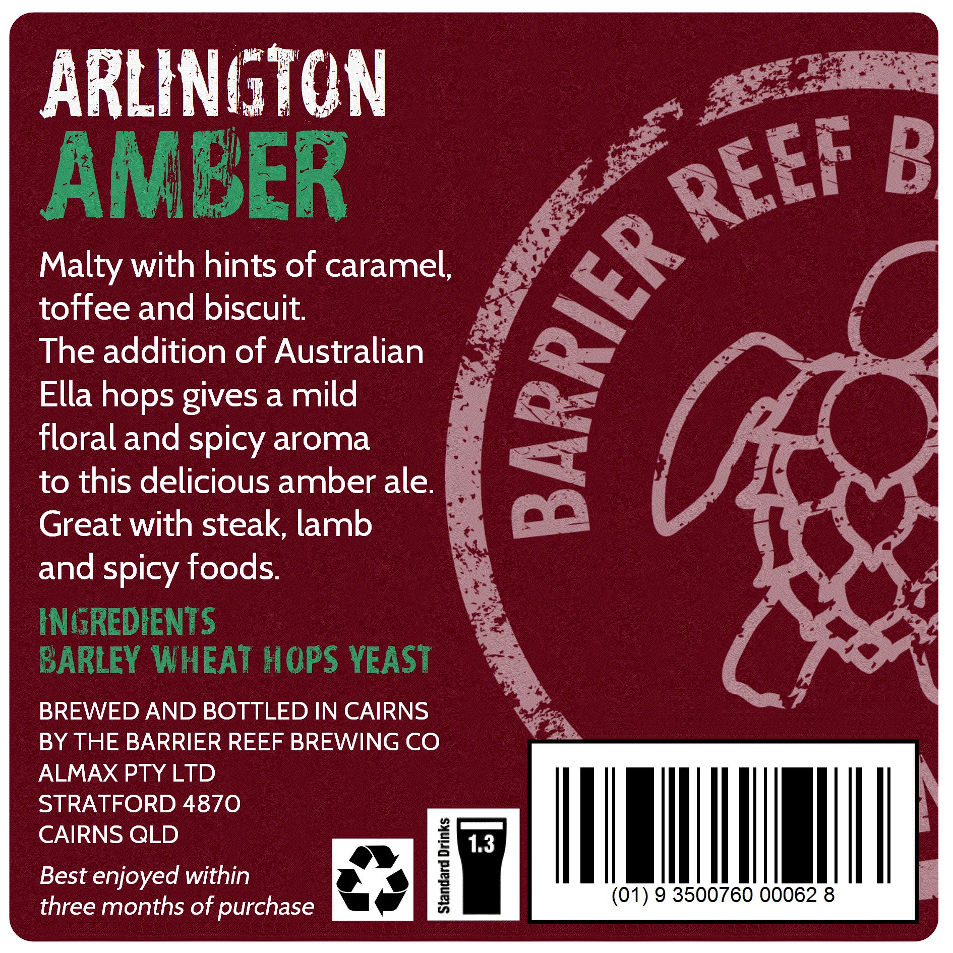 Arlington Amber Ale